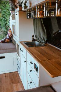 VW T5 T6 Möbelzeile küche ausbau ellie vans